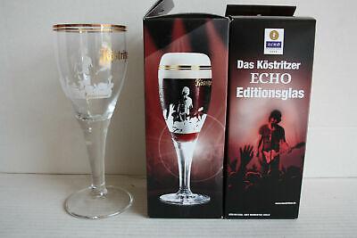 Köstritzer Bierglas Echo Editionsglas Neu Ovp/ RaritÄt Um Eine Hohe Bewunderung Zu Gewinnen Und Wird Im In- Und Ausland Weithin Vertraut.