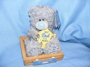Me To You Bear Tatty Teddy Plush Best Dad Fathers Birthday Gift G01W6277 NEW