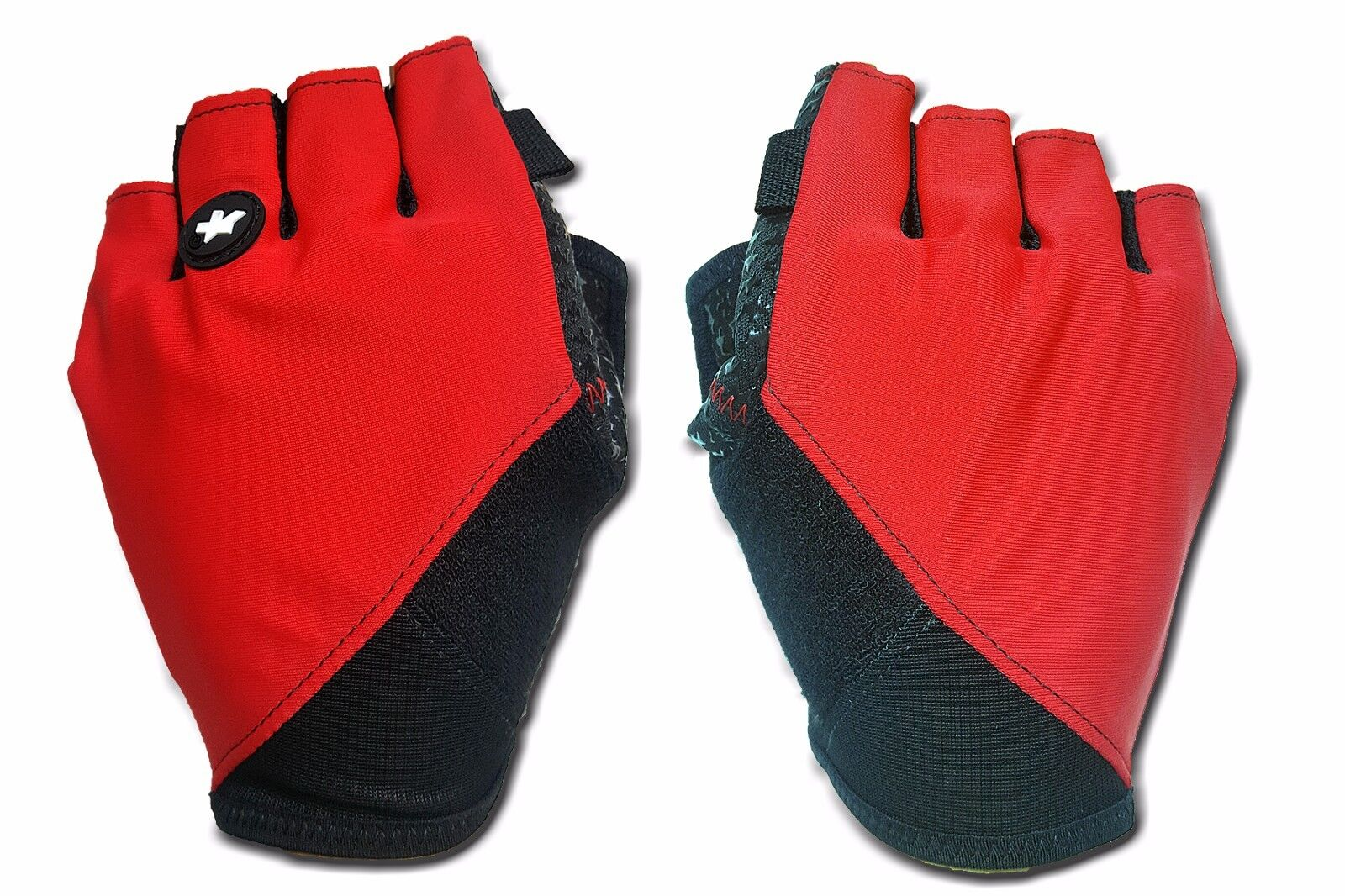 ASSOS ZOMER GLOZEN U S7 Rode  Zwarte Cycling Finger Protection groottes  S,M,L,XL