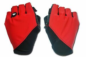 0ede0c380c4a1 ASSOS SUMMER GLOVES_S7 Red / Black Cycling Finger Protection sizes ...