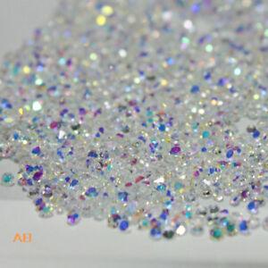 Crystal-Pixie-3D-Nail-Art-Rhinestone-1-2mm-Clear-AB-Mini-Strass-Beads-Charms