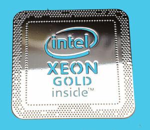 Intel Xeon CASE STICKER ADESIVO BADGE