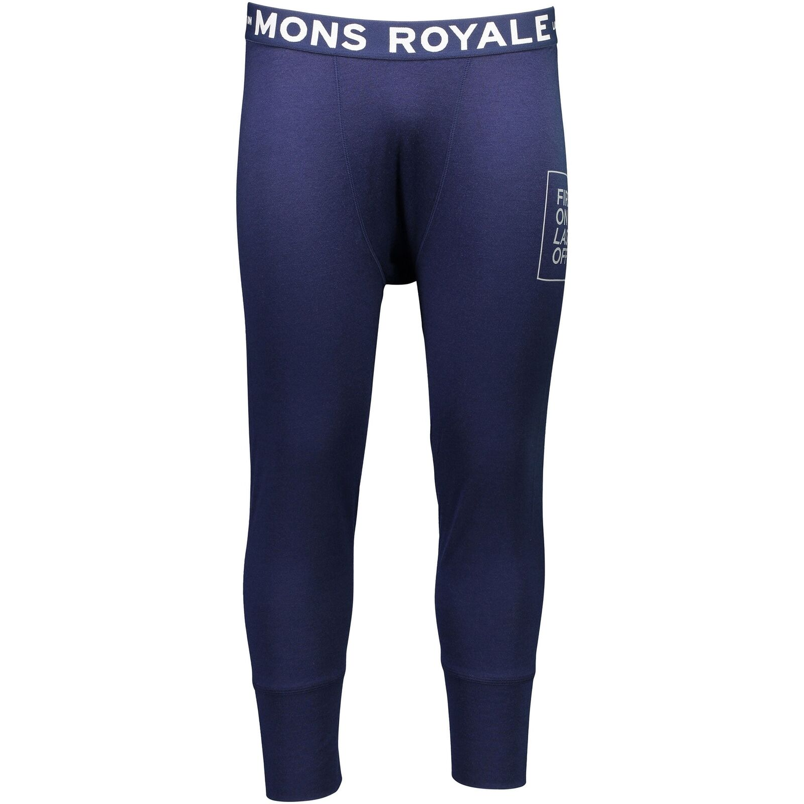 Mons Royale FOLO Shaun-Off 3/4 Long Johns FOLO Royale - Navy 2fe936