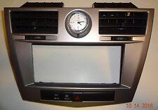 2007 - 2010 CHRYSLER SEBRING RADIO DASH BEZEL TRIM CLOCK AIR VENT CILVER Menu