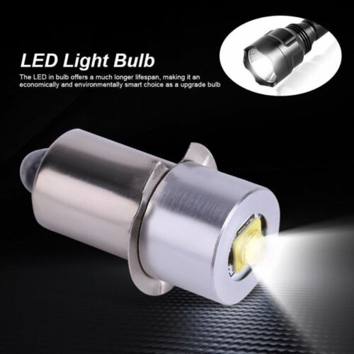 P13.5S 1W 3V 4.5V 6V LED Upgrade Bulb  Maglite D C cell Flashlights Replacement