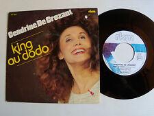 "CENDRINE DE CROZANT: King au dodo / Mistinguett 7"" 45T 1982 RKM 761 606 G LAYANI"