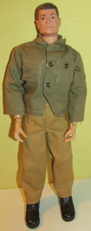 1964 GI Joe Australian No Scar, Brown Hair Hasbro USA Figure