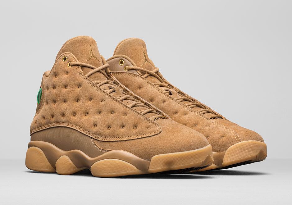 Neu in Box Herren Nike Air Jordan 13 Retro   Weizen   414571 705 Schuhe