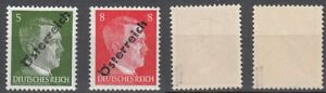 Osterreich-Nr-660-VI-662-VI-postfrisch-geprueft-Sturzeis-VOB