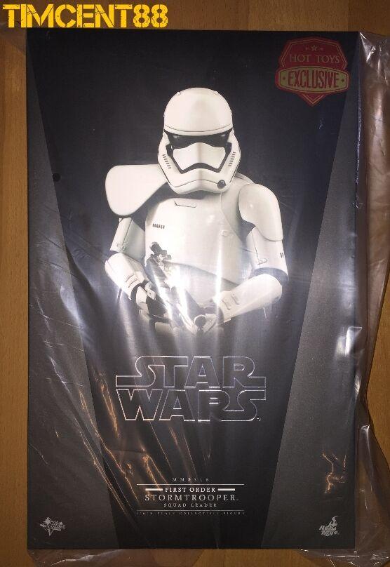 Hot Juguetes MMS316 Estrella Wars Stormtrooper escuadrón líder de primer orden 1 6 Exclusivo