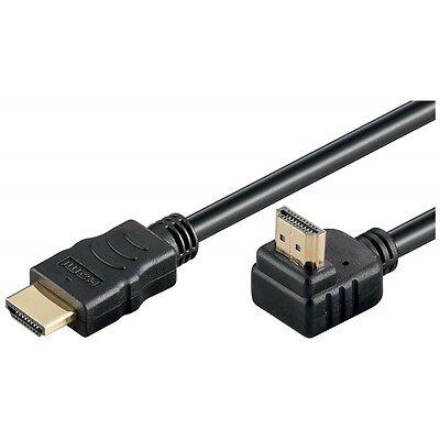 Goobay Alta Velocità Hdmi Cavo Con Ethernet, Nero, 1 Metri (spostato)-