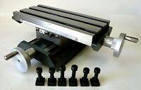 Precision Low Profile Compound X/y Cross Slide Table Position Mill Drill Machine