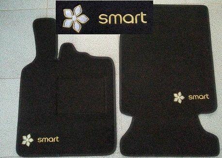 Tappetini Smart ForTwo 1°2°3° Serie bordi personalizzabili no original 19
