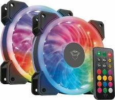 Artikelbild GXT 770 RGB Illuminated PC Case Fan 2-pack PC-Gehäuselüfter *NEU* 4115
