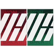 IKON - (WELCOME BACK) DEBUT FULL ALBUM Green Ver CD + Photobook+ Welcome Pack YG