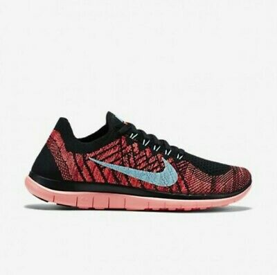 Kleidung & Accessoires Wmns Nike Free 4.0 Flyknit Sneaker 717076 004