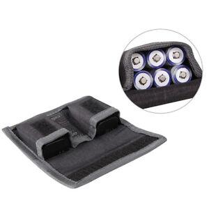 Hard Battery Storage Box Battery Organizer Fireproof Waterproof Case Hold BaB I-