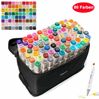 80er Graphic Marker TouchFive Twin Alcohol Sketch Marker Pen Painting Markers DE