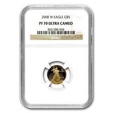 2008-W 1/10 oz Proof Gold American Eagle Coin - PF-70 NGC - SKU #67858