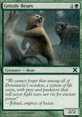NM 10th Edition Grizzly Bears X4 MTG *CCGHouse* Magic