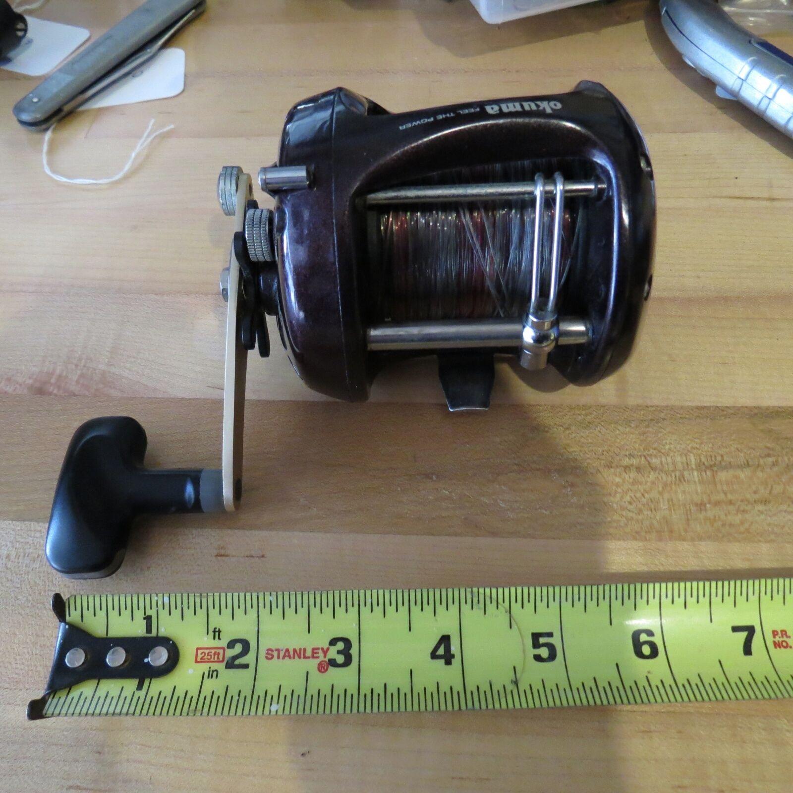 Okuma Zonar 45L Saltwater  fishing reel lot 9371