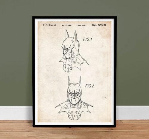 Cartel De Batman Caballero de la noche 1992 impresión arte patente ...