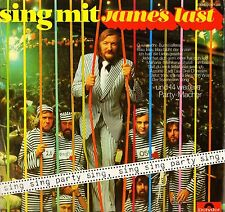 JAMES LAST sing mit: sing sing party sing 2371 358 german polydor LP PS EX/EX