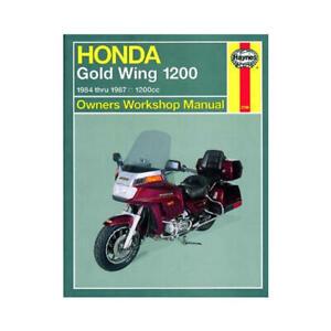 Haynes Motorcycle Repair Manual for Honda GL 1200 Gold Wing 1984-1987