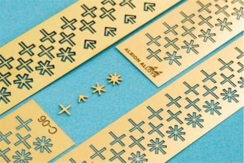 ALBION ALLOYS C04 P//E Connecteurs Connecto Crosses 0.4mm