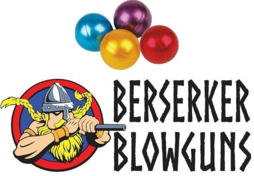 .40 cal Assorted Color Paintballs by Berserker Blowguns 100