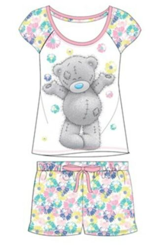 Womens//Ladies Character Pyjamas Short /& Long Cotton Nightwear Sizes 8 to 22