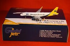 GEMINI JETS 1430 MONARCH AIRBUS A320 SHARKLETS reg G-ZBAA 1-400 SCALE