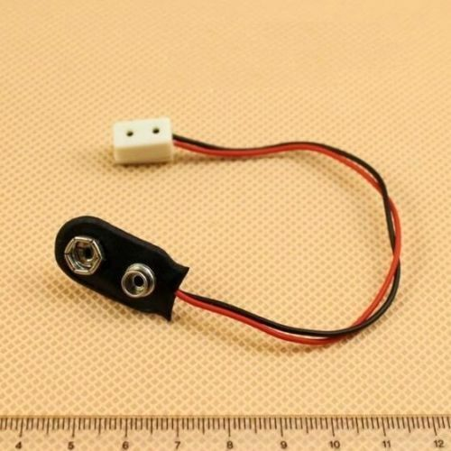 1:12 Dollhouse Doll Miniature Lamp Use Electrical Connector Strip For 9V Battery