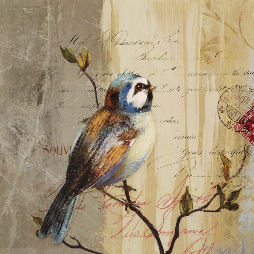 3D Bird Painting 9075 Wall Paper Wall Print Decal Wall Deco Wall Indoor Murals