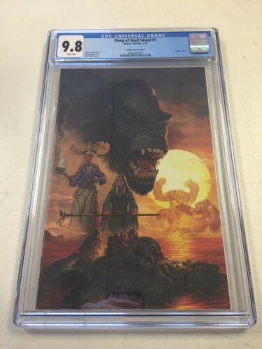 Kong of Skull Island #1 CGC 9.8 JJUFS Robles Variant Virgin Cover