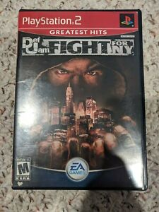 Def Jam: Fight for NY Greatest Hits CIB Complete (PlayStation 2, 2004)