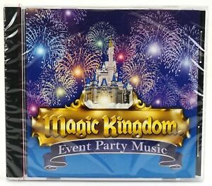 New Disney Parks Magic Kingdom Event Party Music CD