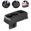 Portable Car Cup Holder Drink Bottle Seat Seam Gap Wedge Phone Storage Box Black
