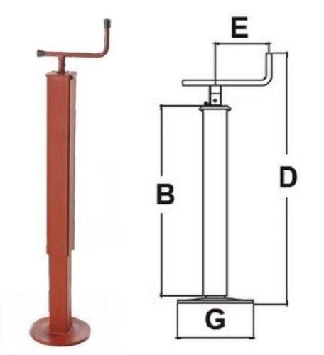 Simol Stützfuß mechanisch 500 kg Stützlast