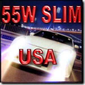 55W-SLIM-9005-Xenon-HID-Headlamp-Kit-High-Beam-4300K-6000K-8000K-10000K
