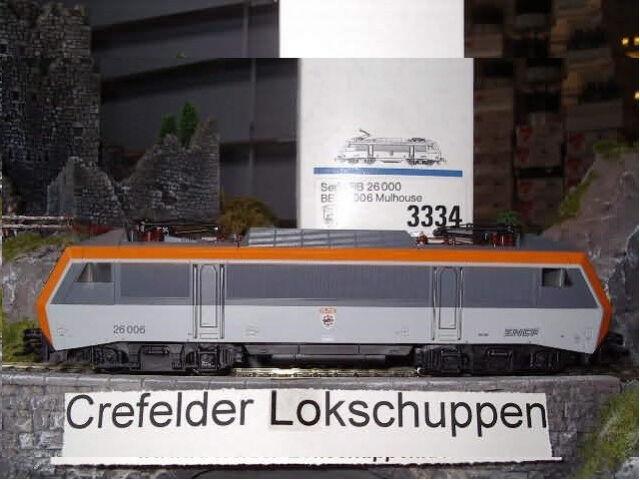 Märklin 3334 BB 26006 SNCF numérique M.Hupe Garantie 2 Ans Distributeur DHL