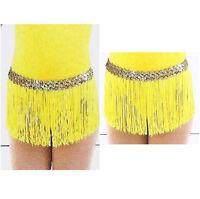 Dance Costume Fringe Skirt Only Jazz Tap Ballet Lemondrop Mix N Match Cxs,cm,cl