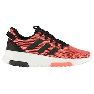adidas-Cloudfoam-Racer-Kids-Running-Shoes-Low-Top-Trainers-Lace-Up-Knit-Knitwear