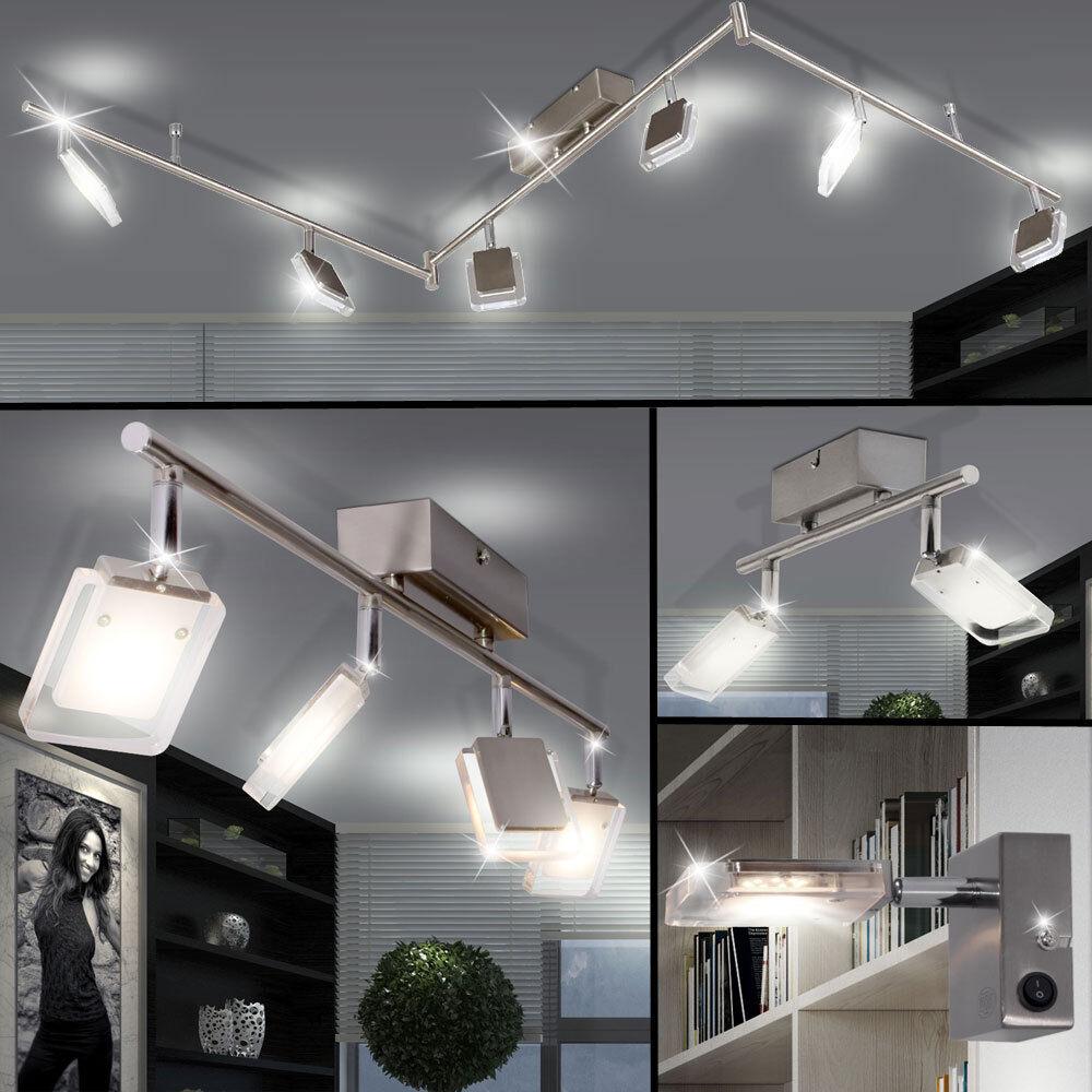 Focos De Techo LED Lámpara de Parojo Luces De Sala Living en funcionamiento Foco Ajustable