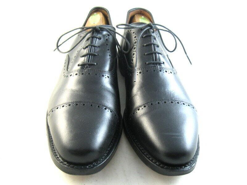 Allen Edmonds  HALE  Oxford 10.5 D Negro (951)