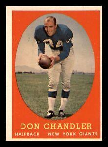 DON-CHANDLER-1958-TOPPS-1958-NO-54-NRMINT-22697
