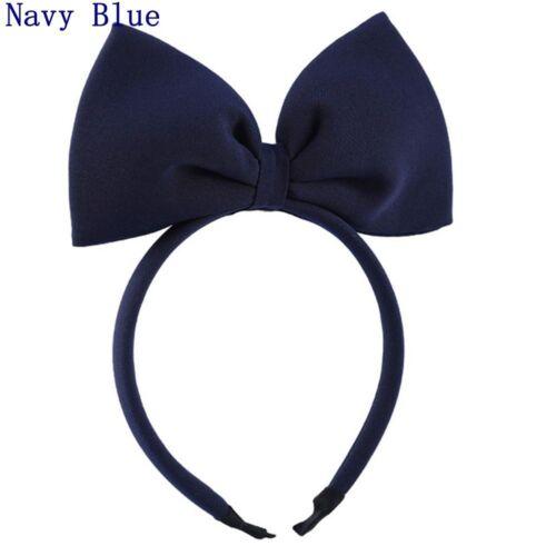 Elastic Cute Big Bowknot Hairband Bubble Jacobs Butterfly Hair Hoop