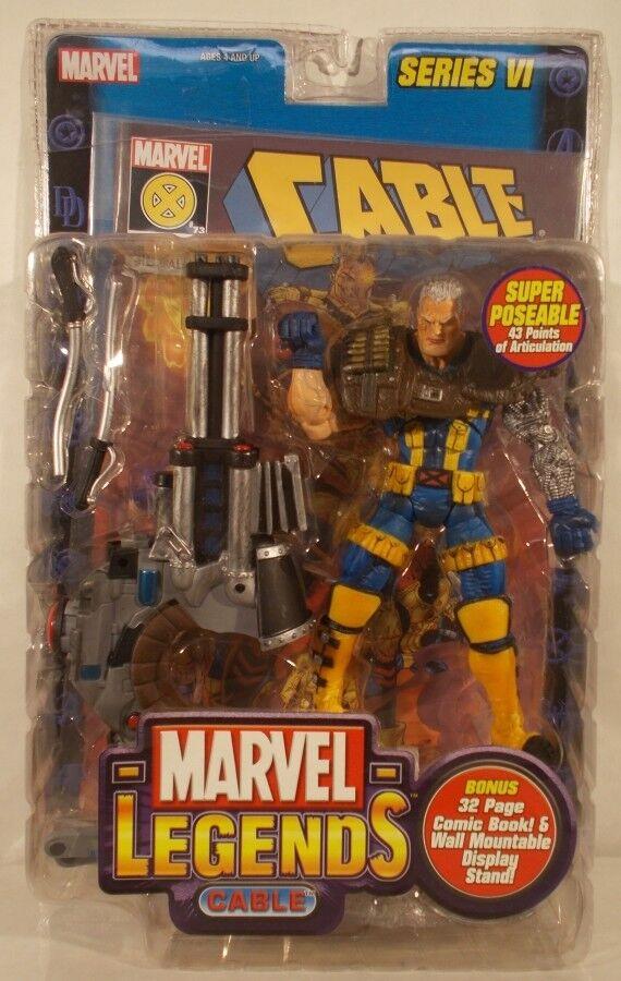 Marvel - legenden toybiz reihe 6 - x - force - blau und gelb (misp)