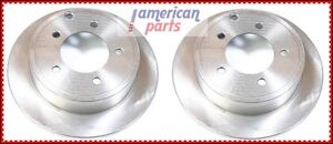 2x-Disques-de-Frein-Arriere-Chrysler-Sebring-2007-2010-Dodge-Avenger-2010-2014