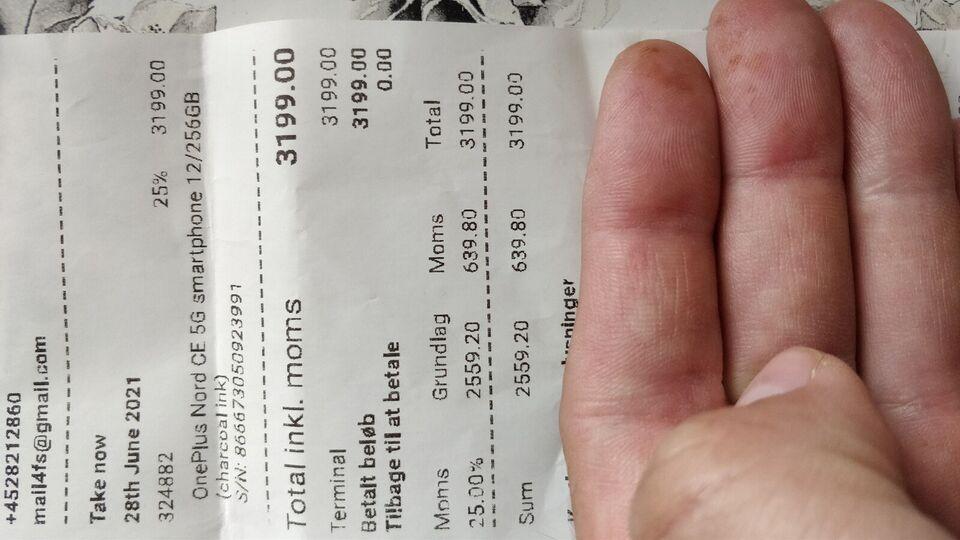 OnePlus NORD CE 5G, 12GB/256GB , Perfekt